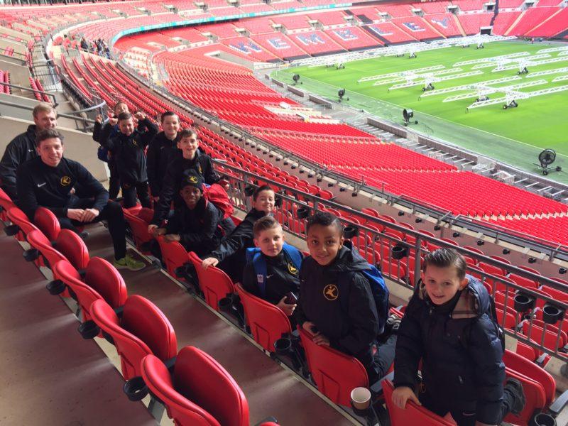 Kinetic U10's go to Wembley!