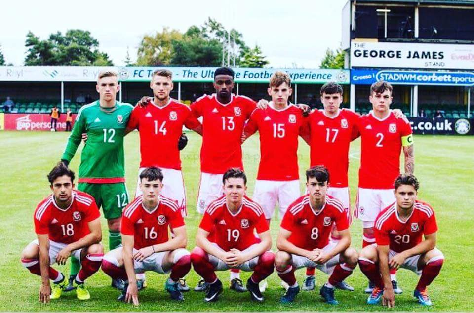 From Croydon to Wales. Former U18 skipper makes his Wales U19 debut