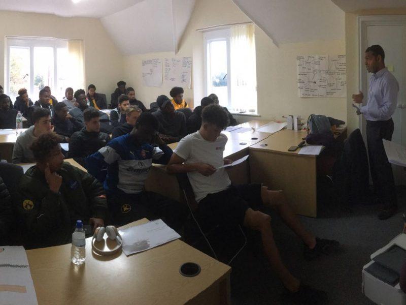 Rutland mentors deliver workshop to Academy scholars