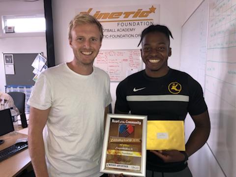 Kinetic Foundation wins top community prize