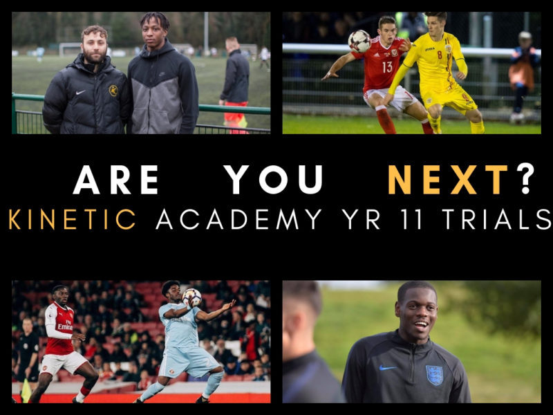 Kinetic Academy Year 11 Trials 2019
