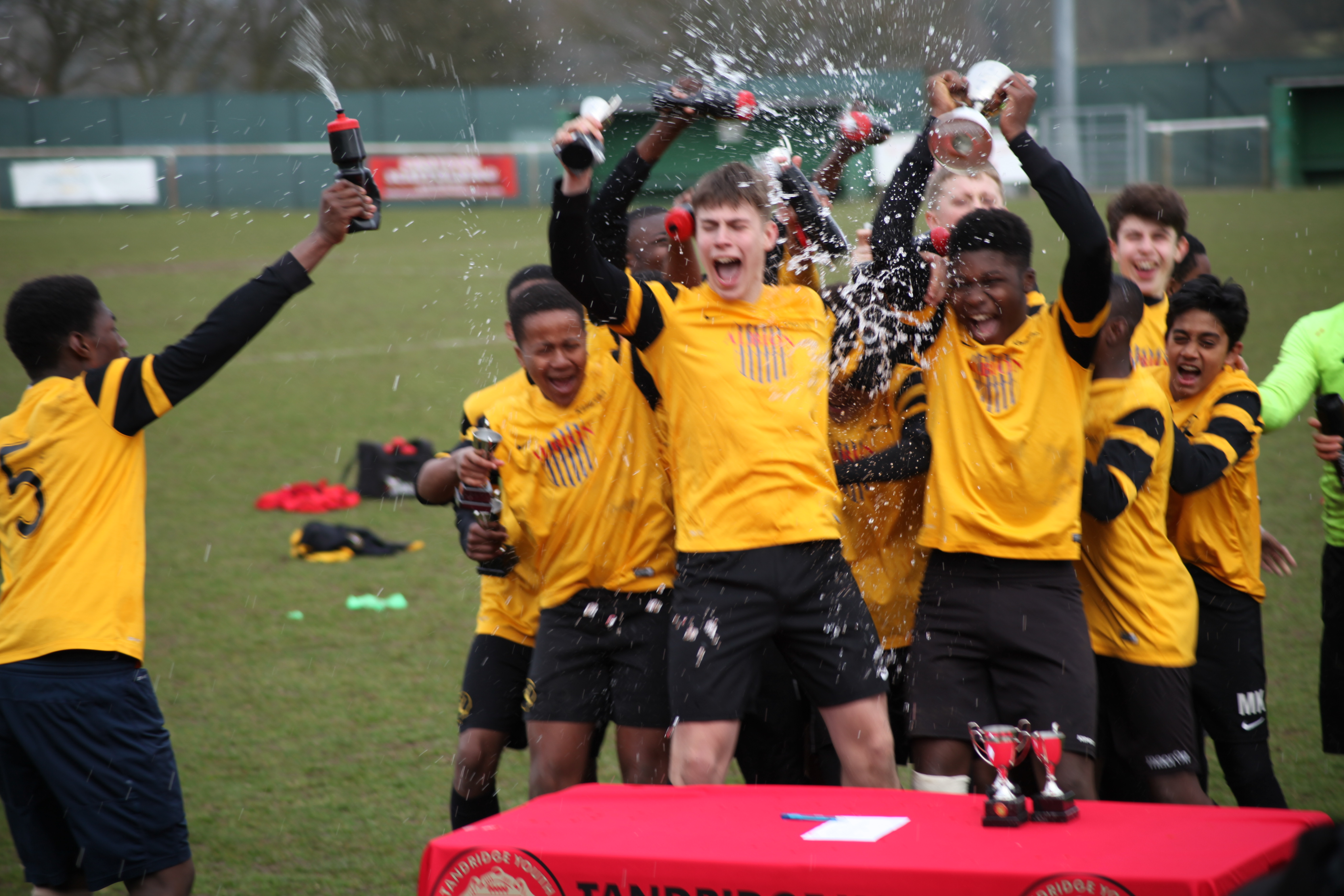 Successful week for the U15's