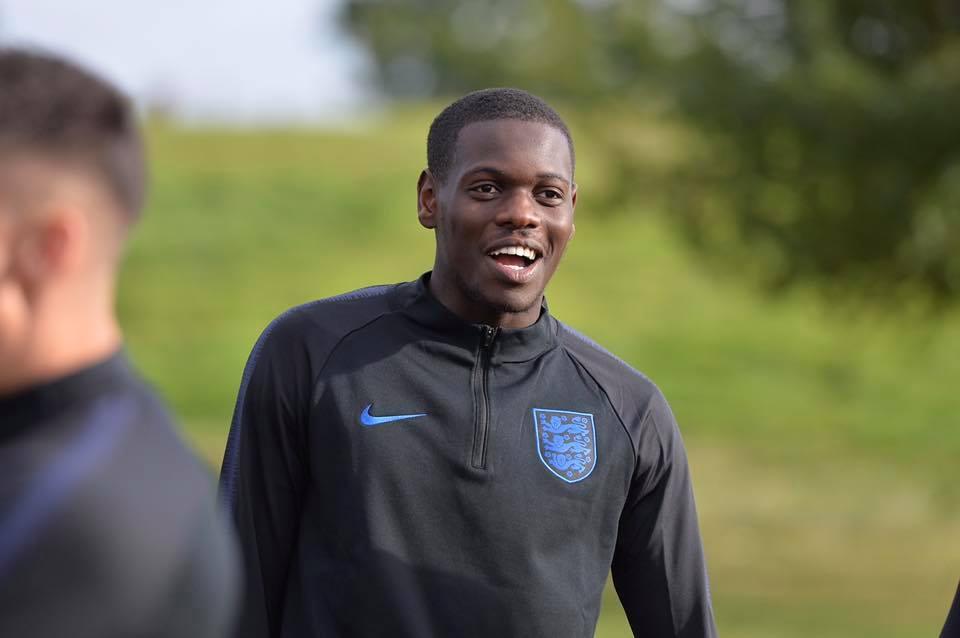 Fonguck makes England debut