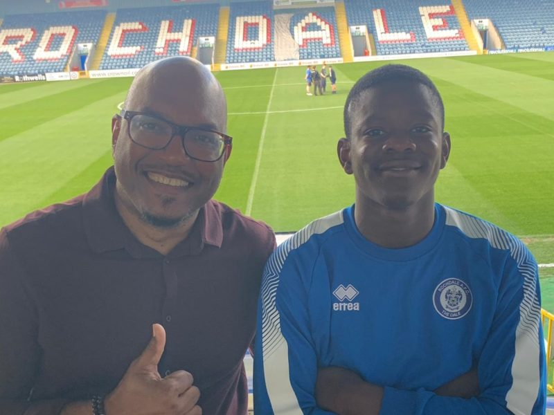 Kinetic Scholar Signs with Rochdale AFC